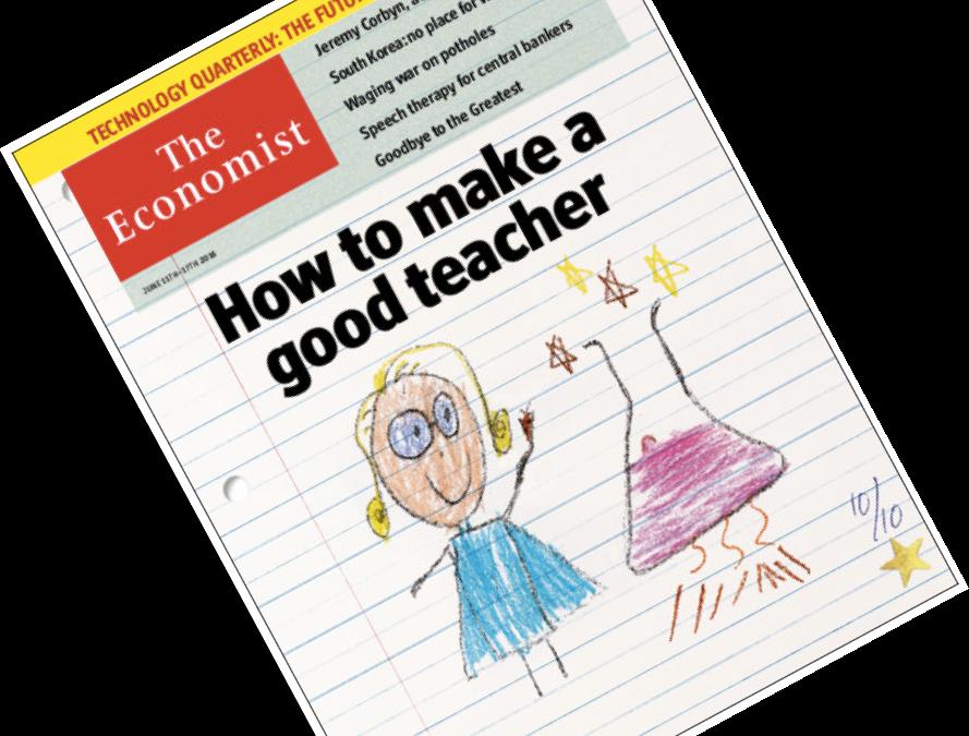 Successful Schools bloggar om artikeln How to make a good teacher som The Economists skrivit och som tar upp läraryrket i nutid och i framtid.