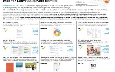 Del 1 till 3. Jämför ert kvalitetsarbete med Ludvikas