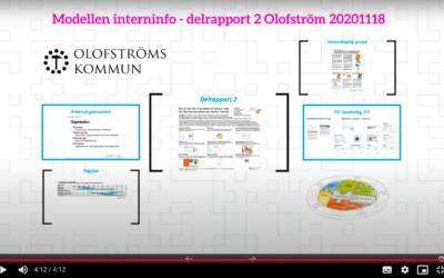 Processkvalitet i skolvardagen – Olofströms kommuns skolor har startat sin resa med Modellen (video)